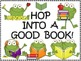 A+ Hop Into A Good Book Reading Center Poster