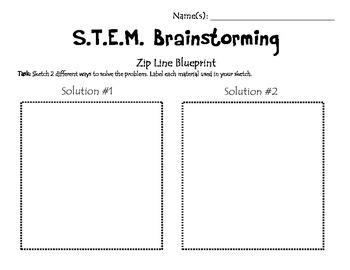 STEM A Hop, Skip and A Zip Line to Grandma's