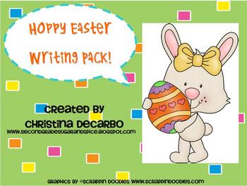 A Hoppy Easter Writing Pack