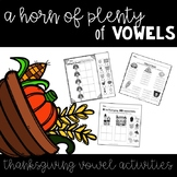 A Horn of Plenty of Vowels {A Thanksgiving Vowel and Liter