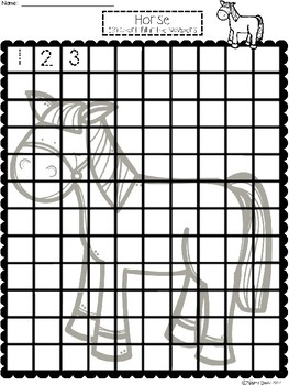 A+ Horse: Numbers 100 and 120 Chart