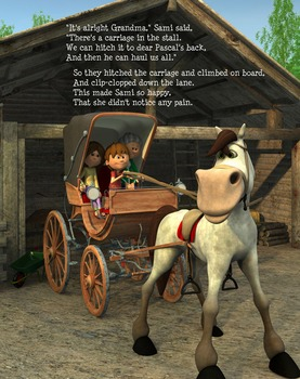 A Horse Story-Sami and Thomas Meet Pascal-Children's Story In-Verse