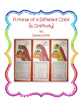 A Horse of a Different Color {a Craftivity}