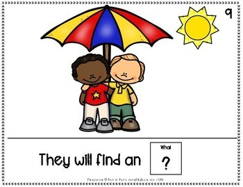 A Hot Summer Day- Adapted Book for Special Education / Autism Classrooms