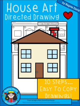 A+ House Art: Directed Drawing