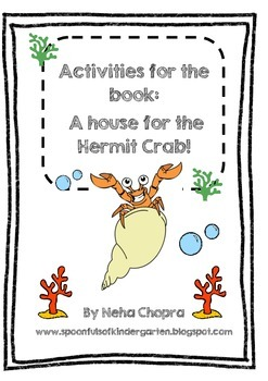 a house for hermit crab activity pack by neha chopra tpt. Black Bedroom Furniture Sets. Home Design Ideas