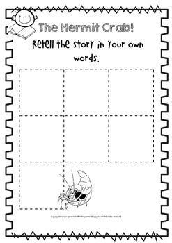 A House For Hermit Crab Activity Pack