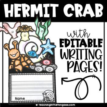 Hermit Crab Craft Activity (Craftivity)