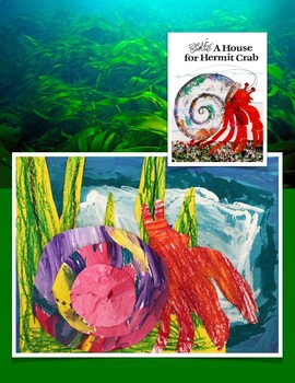 A House for Hermit Crab Kindergarten Art and Literature Connection