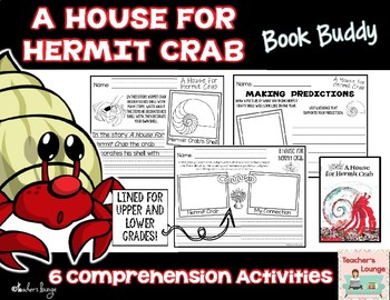 A House for Hermit Crab Reading Activities