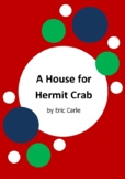 A House for Hermit Crab by Eric Carle - 6 Worksheets