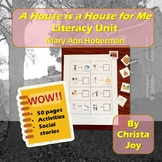 A House is a House for Me Literacy Unit for Special Education