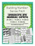 A Huge Number Sense Bundle: Common Core Operations and Algebraic Thinking (OA)