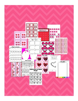 A Huge Valentines Day Math Number Sense Bundle: Common Core