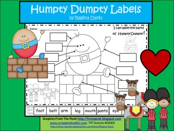 A+ Humpty Dumpty Labels