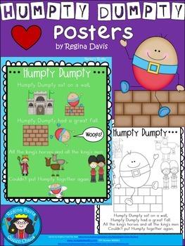 A+ Humpty Dumpty Posters