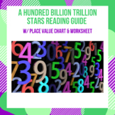 A Hundred Billion Trillion Stars Reading Guide w/ Place Va