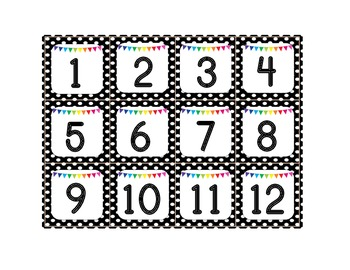 A Hundred Numbers for the Pocket Chart