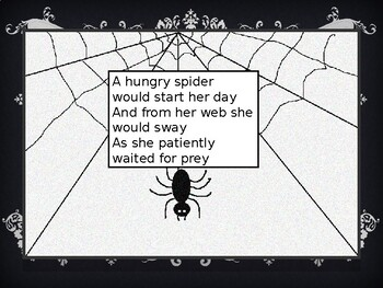 A Hungry Spider, a poem written and illustrated by J. T Roque