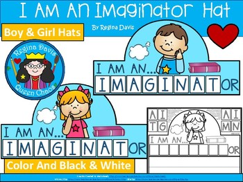 A+ I Am A Imaginator Hat
