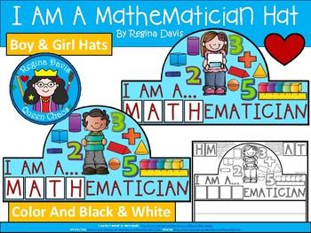 A+ I Am A Mathematician Hat
