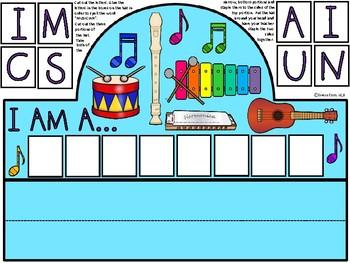 A+ I Am A Musician Hat