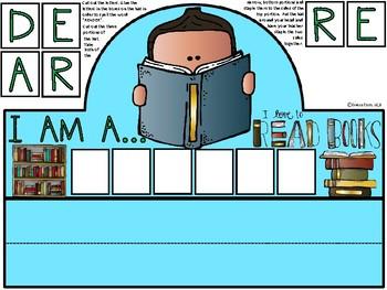 A+ I Am A Reader Hat