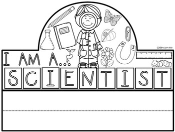 A+ I Am A Scientist Hat