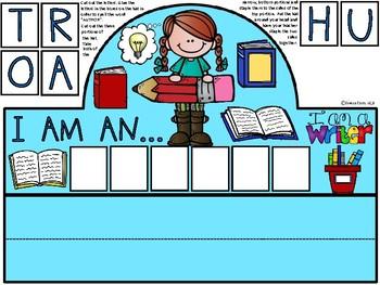 A+ I Am An Author Hat