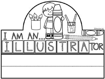 A+ I Am An Illustrator Hat