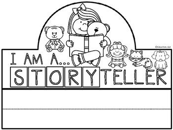 A+ I Am An Storyteller Hat