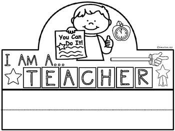 A+ I Am An Teacher Hat