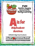 A IS FOR ...ALPHABET ANTICS {MINI UNIT} RFTS PRESCHOOL PROGRAM