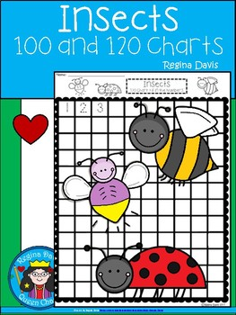 A+ Insects: Numbers 100 and 120 Chart