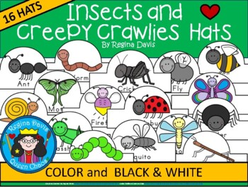 A+ Insects and Creepy Crawlies: Hats
