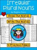 A+ Irregular Plural Noun Practice
