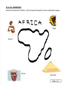 A Is For Africa! by I Can Learn