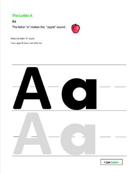 A Is For Apple by I Can Learn