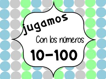 A JUGAR CON LOS NUMEROS 1 - 100