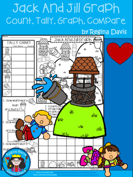 A+ Jack And Jill Nursery Rhyme: Count, Tally, Graph, and Compare