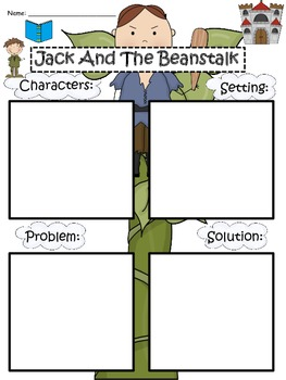 A+  Jack And The Beanstalk Story Maps