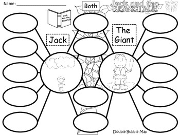 A+ Jack And The Giant.....Jack In the Beanstalk:  Double Bubble Maps