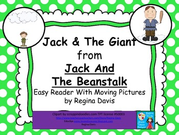 A+ Fairy Tales...Jack vs. The Giant Easy Reader With Moving Pictures