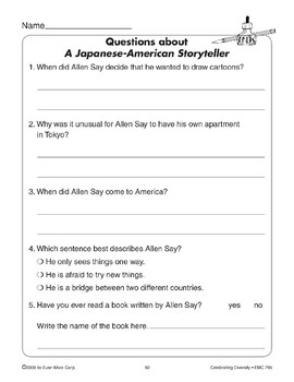 A Japanese-American Storyteller