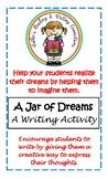 A Jar of Dreams A Writing Activity for Grades 2 - 5