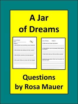 A Jar of Dreams Reading Comprehension