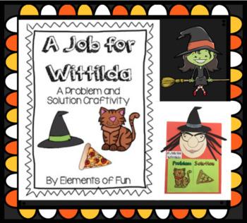 A Job For Wittilda Craftivity