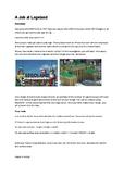 A Job at Legoland Rich Maths Task - Measurement