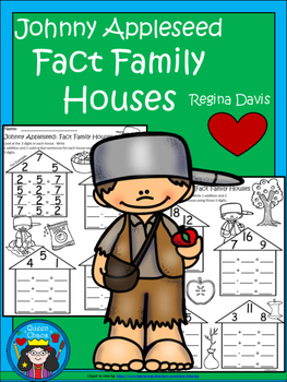 A+ Johnny Appleseed: Fact Family Houses