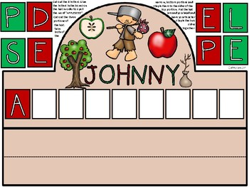 A+ Johnny Appleseed Hat